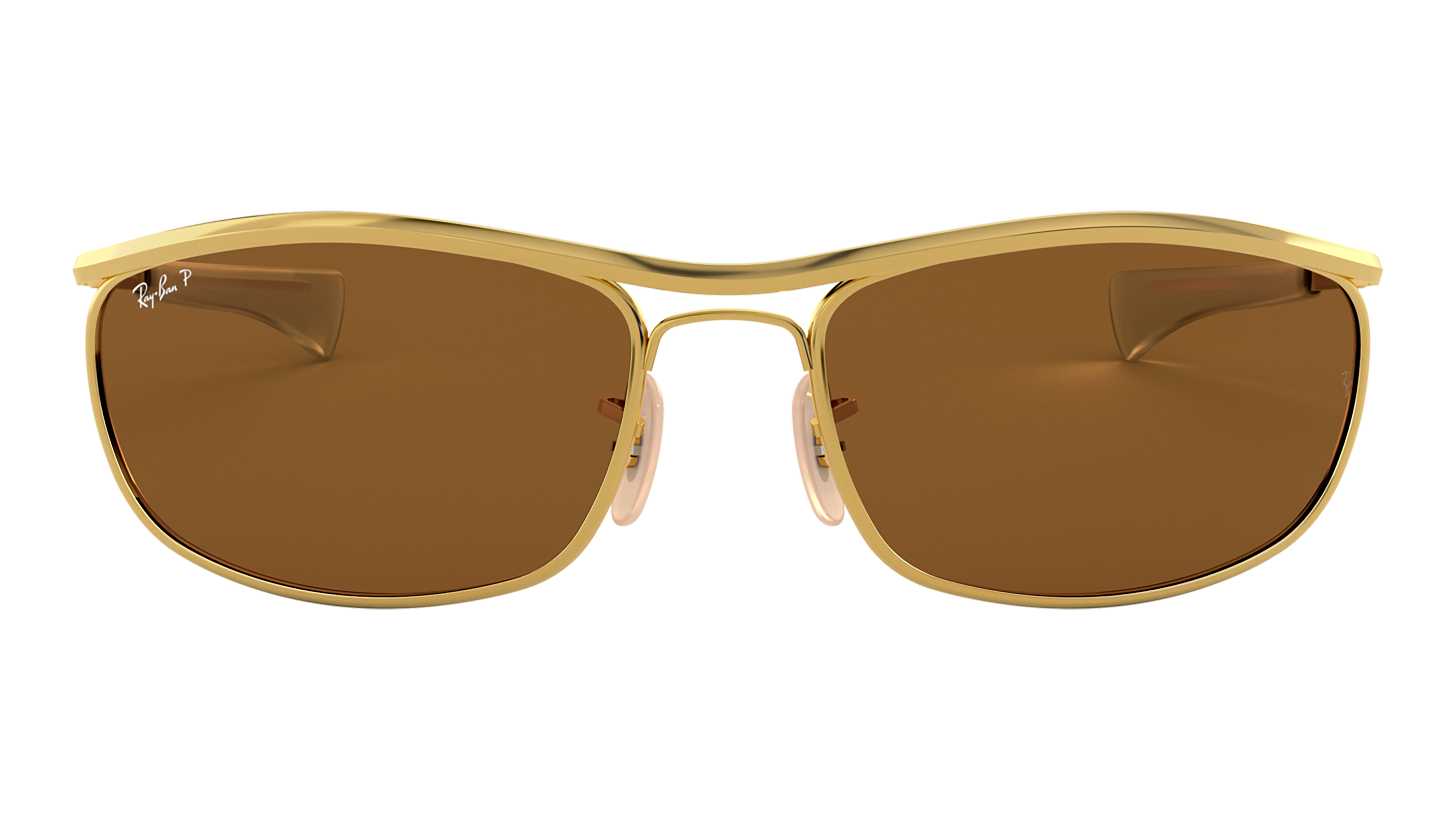 Front Ray-Ban Ray-Ban 0RB3119M 001/57 62/18 Goud/Bruin