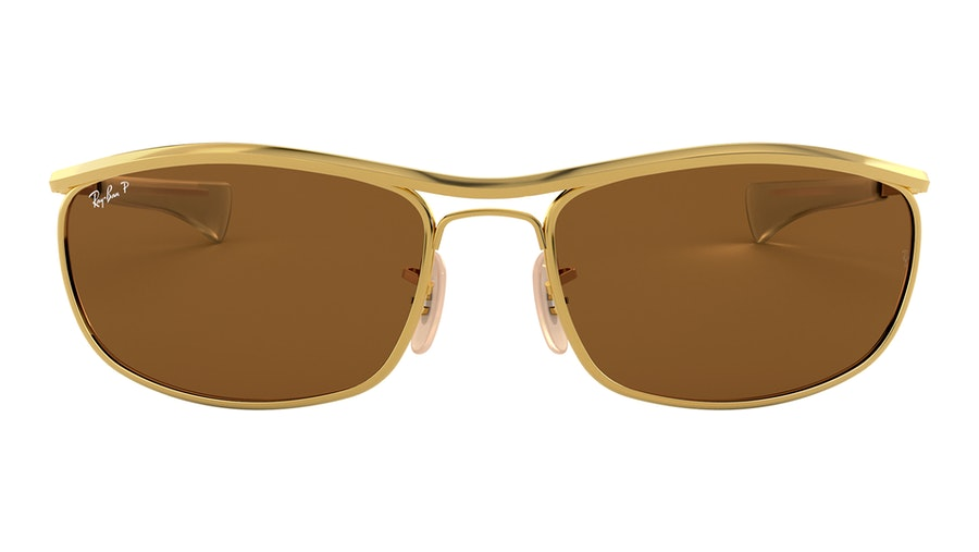 Ray-Ban 0RB3119M 001/57 Bruin / Goud