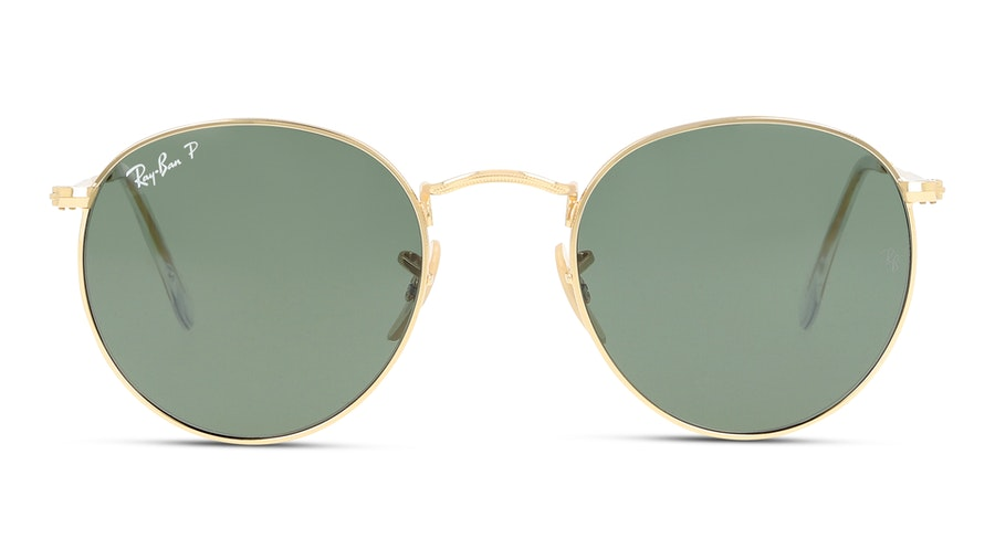 Ray-Ban Round Metal 3447 001/58 Groen