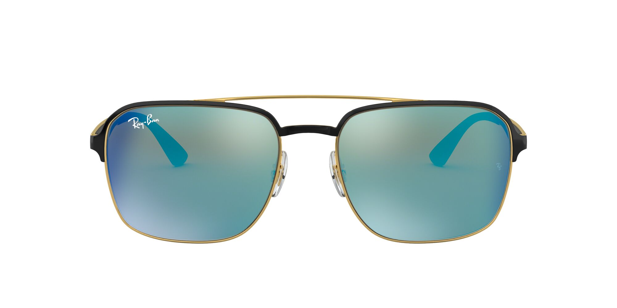Front Ray-Ban Ray-Ban 0RB3570 187/55 58/18 Goud/Groen