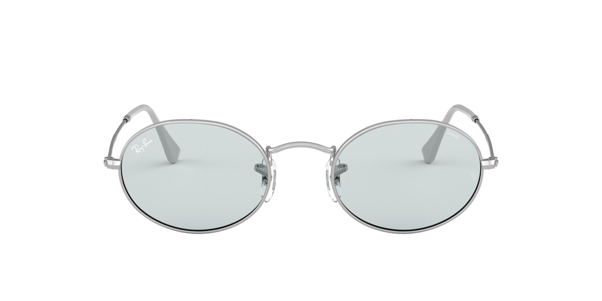 Front Ray-Ban Ray-Ban 0RB3547 003/T3 53/21 Zilver/Grijs