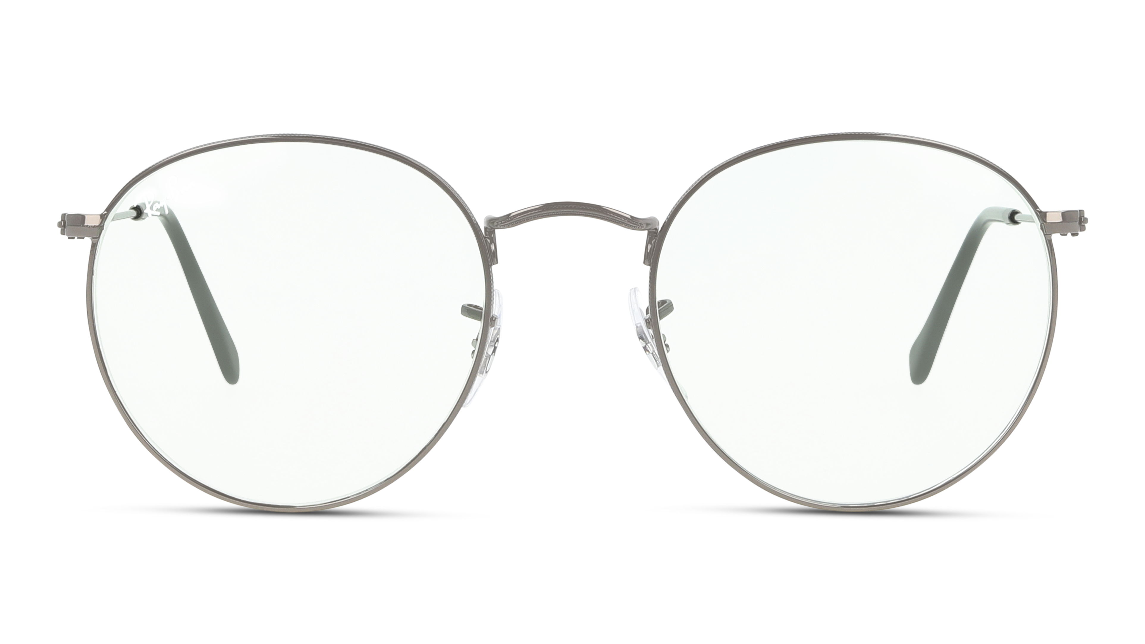 Front Ray-Ban Ray-Ban 0RB3447 004/T1 53/21 Grijs/Groen