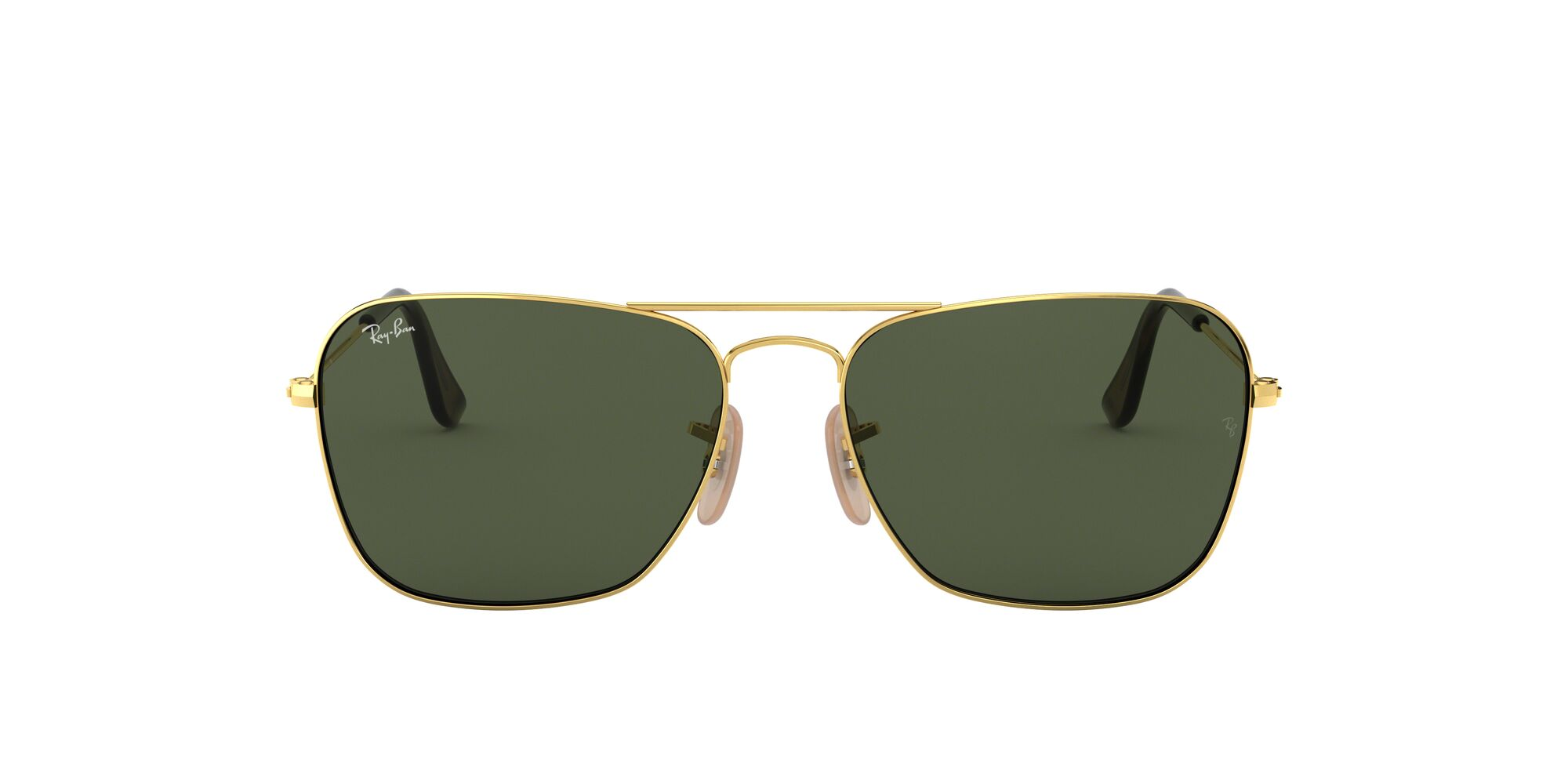 Front Ray-Ban Ray-Ban 0RB3136 181 55/15 Goud/Groen