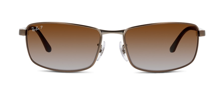 Ray-Ban 3498 029/T5 Bruin / Zilver