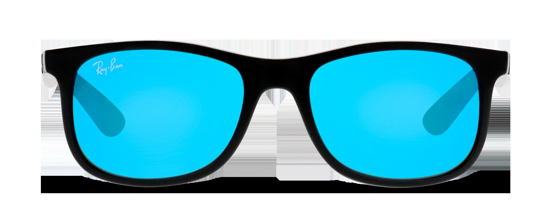 Front Ray-Ban Ray-Ban 9062S 701355 48/16 Zwart/Blauw