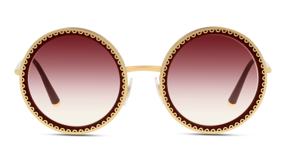 Front Dolce & Gabbana DolceGab 2211 02/8H 53/24 Oro,Rosso/Viola