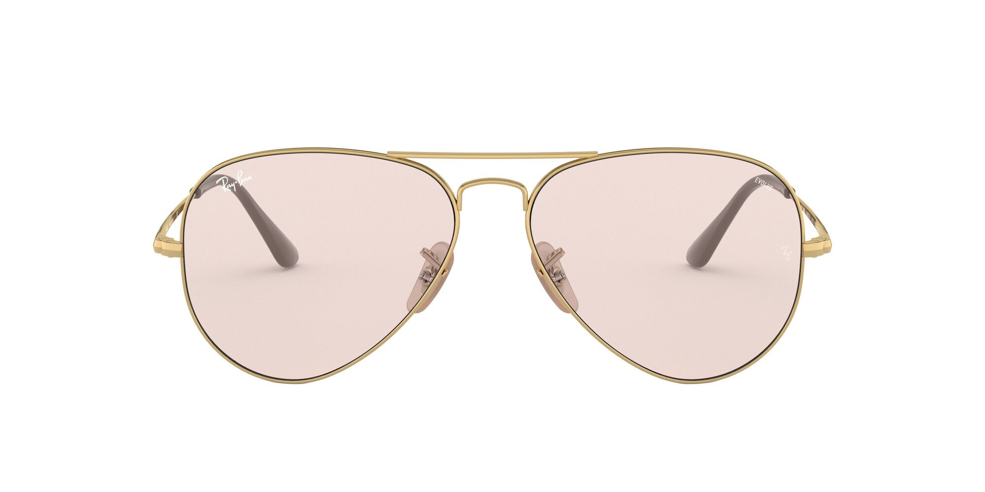 Front Ray-Ban Ray-Ban 0RB3689 001/T5 58/14 Goud/Roze