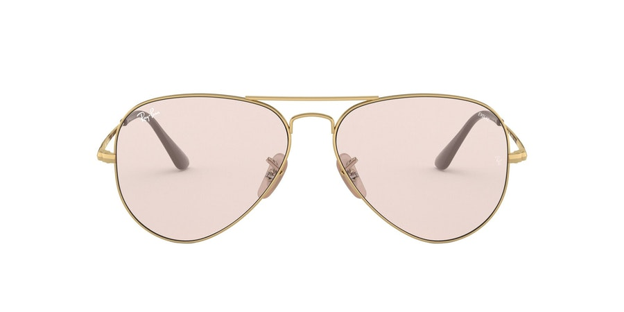 Ray-Ban 0RB3689 001/T5 Roze / Goud