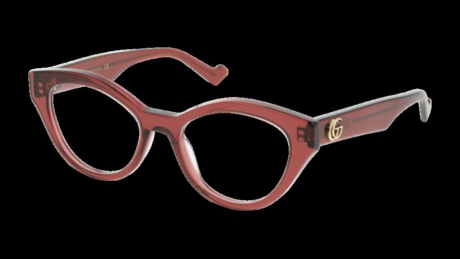 Angle_Left01 Gucci GUCCI GG0959O 003 51 Violeta e Transparente