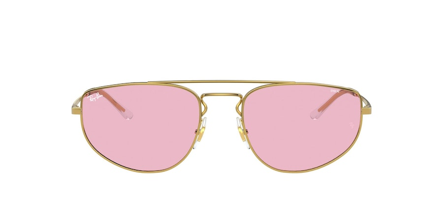 Ray-Ban 0RB3668 001/Q3 Roze / Goud