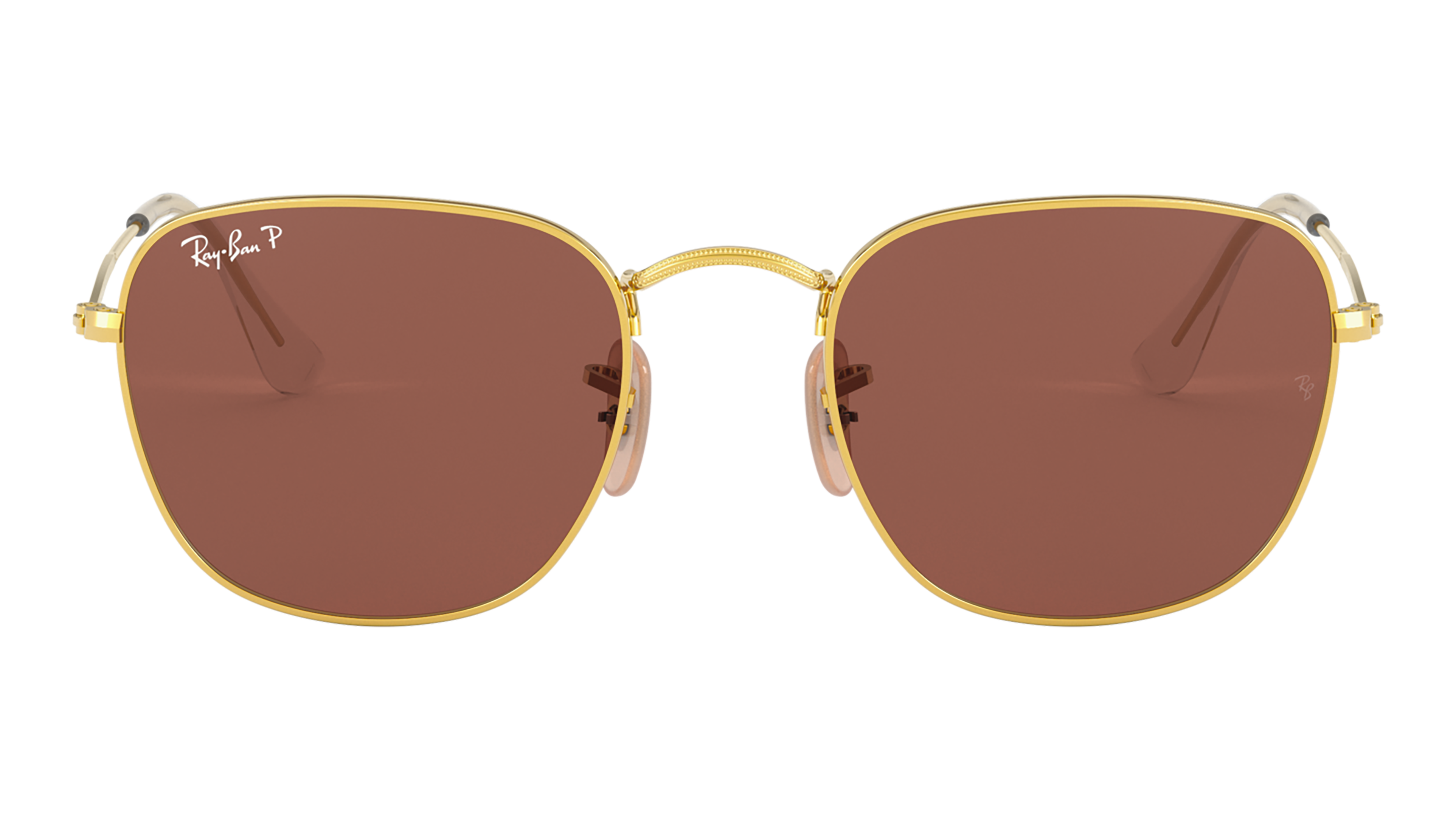 Front Ray-Ban Ray-Ban 0RB3857 9196AF 51/20 Goud/Rood