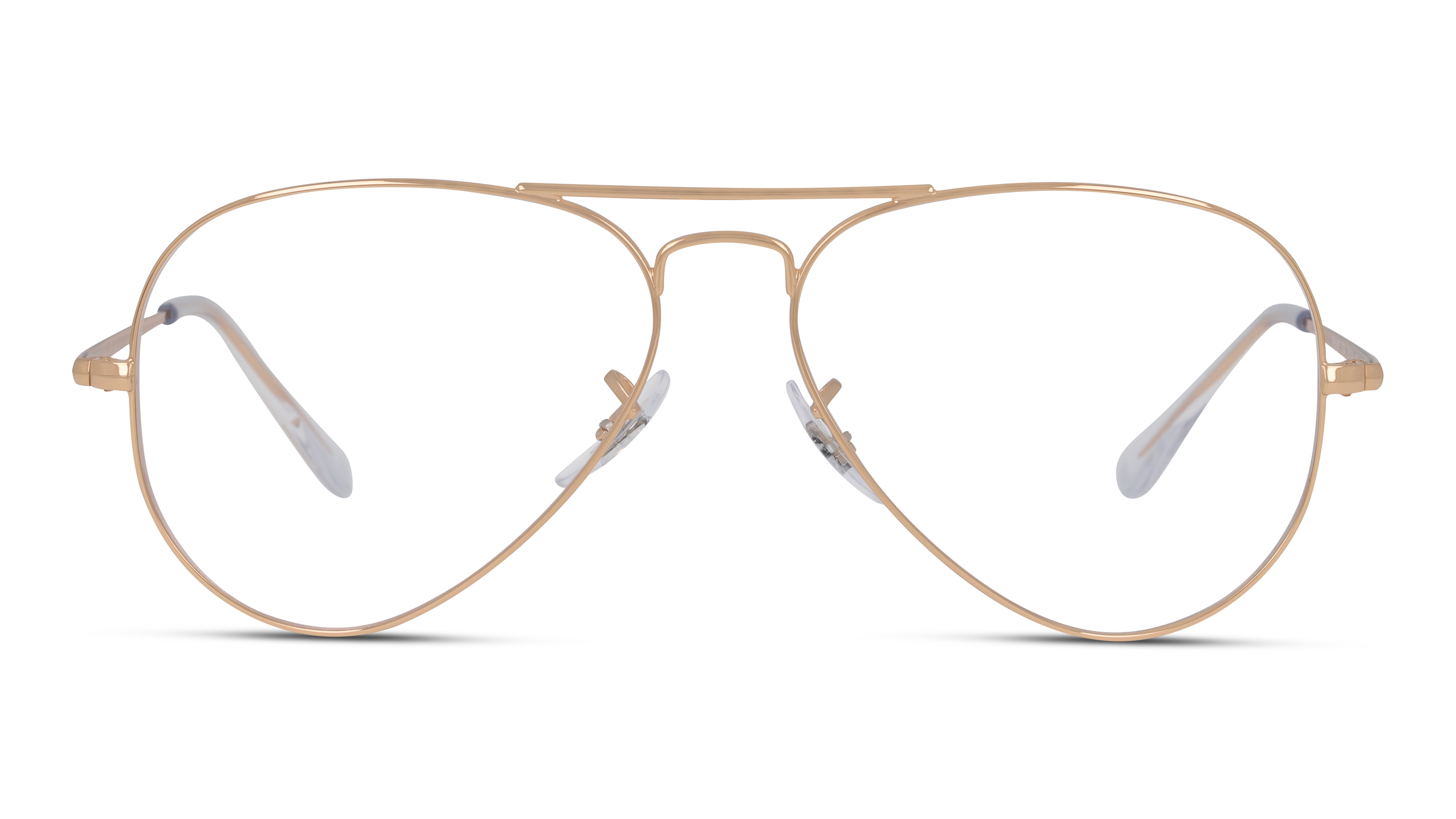 Front Ray-Ban Ray-Ban 0RX6489 3094 57/14 Roze, Goud