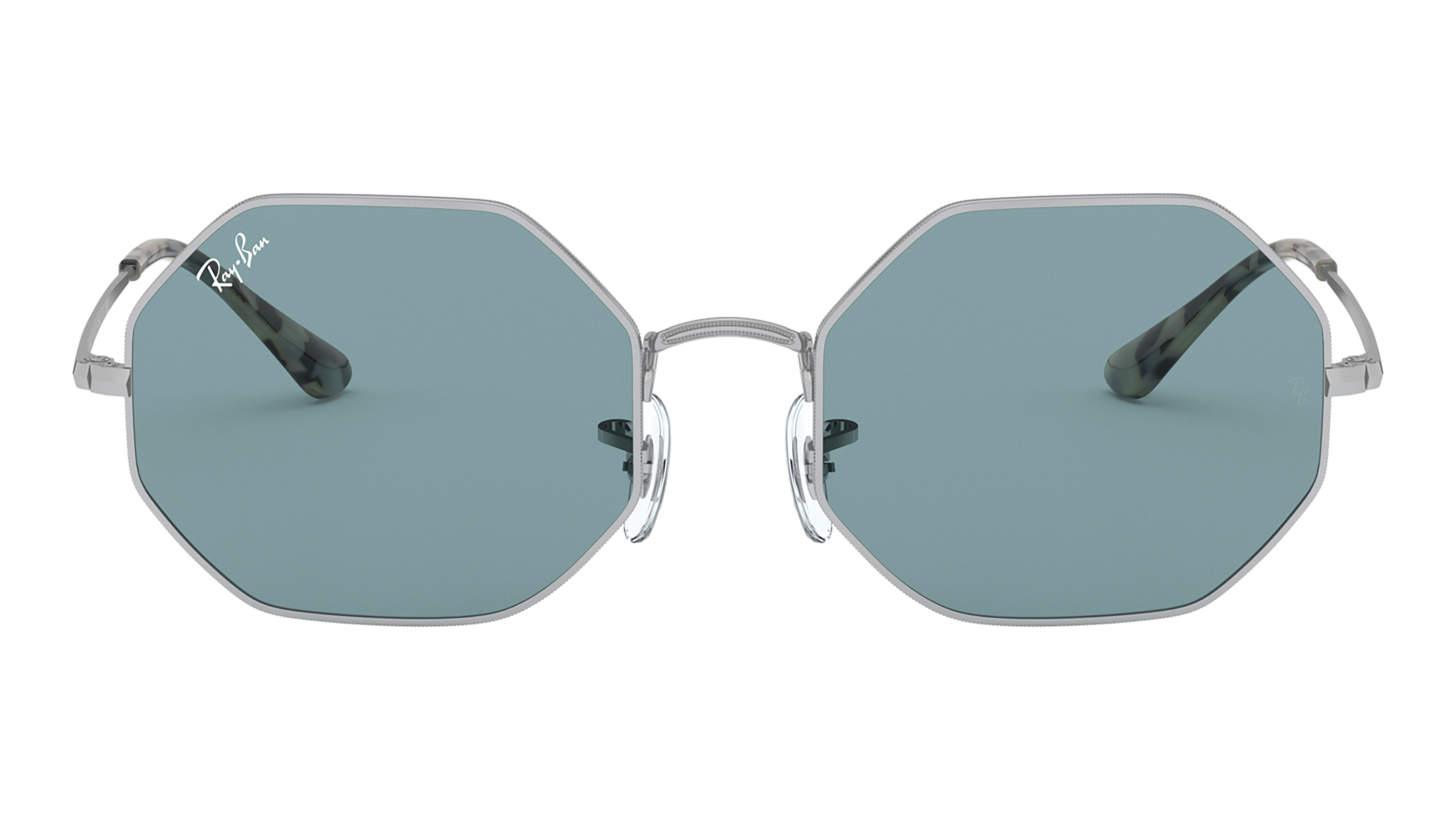 Front Ray-Ban Ray-Ban 0RB1972 919756 54/19 Zilver/Blauw