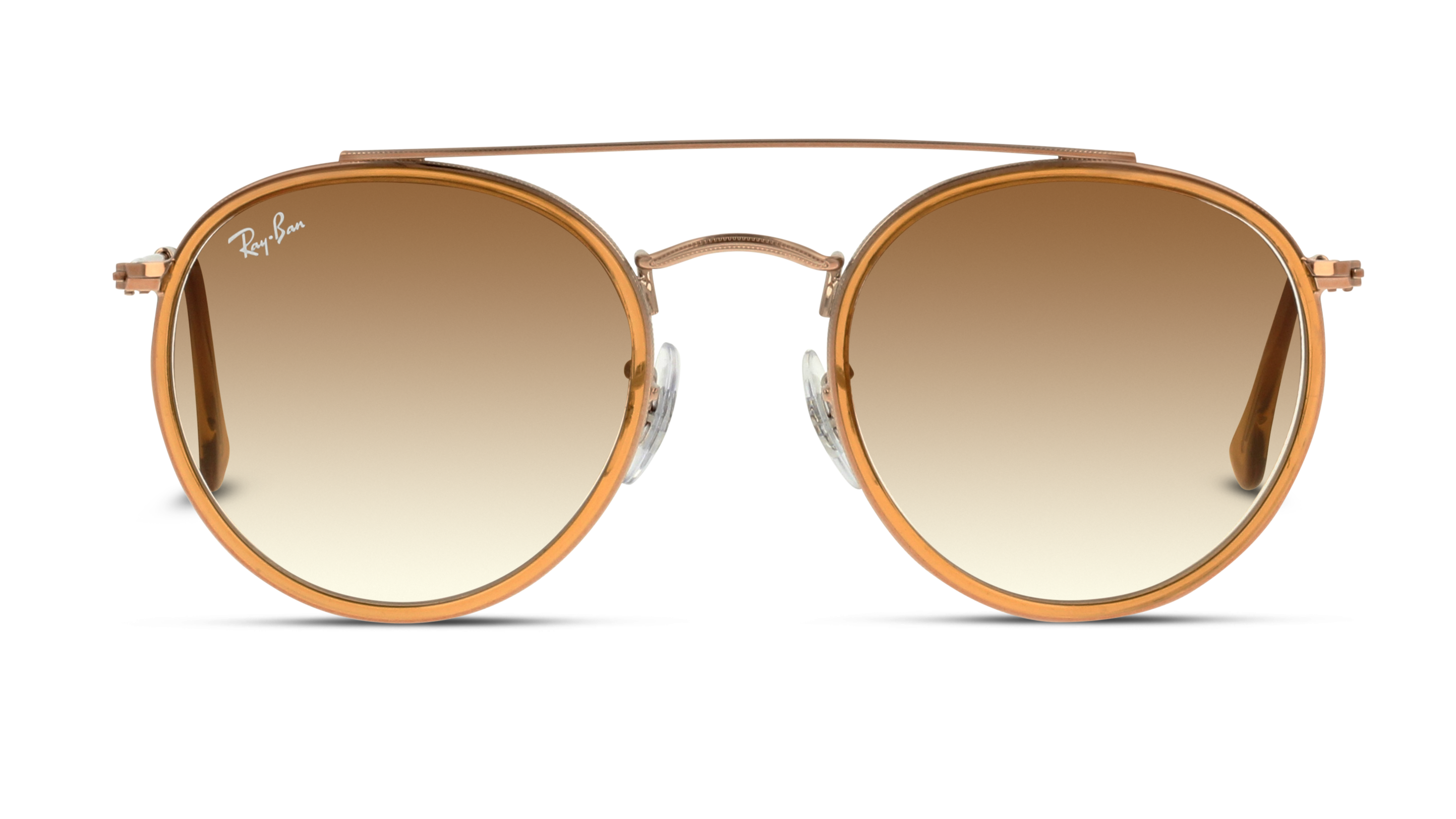 Front Ray-Ban Ray-Ban 0RB3647N 907051 51/22 Zilver, Bruin/Bruin