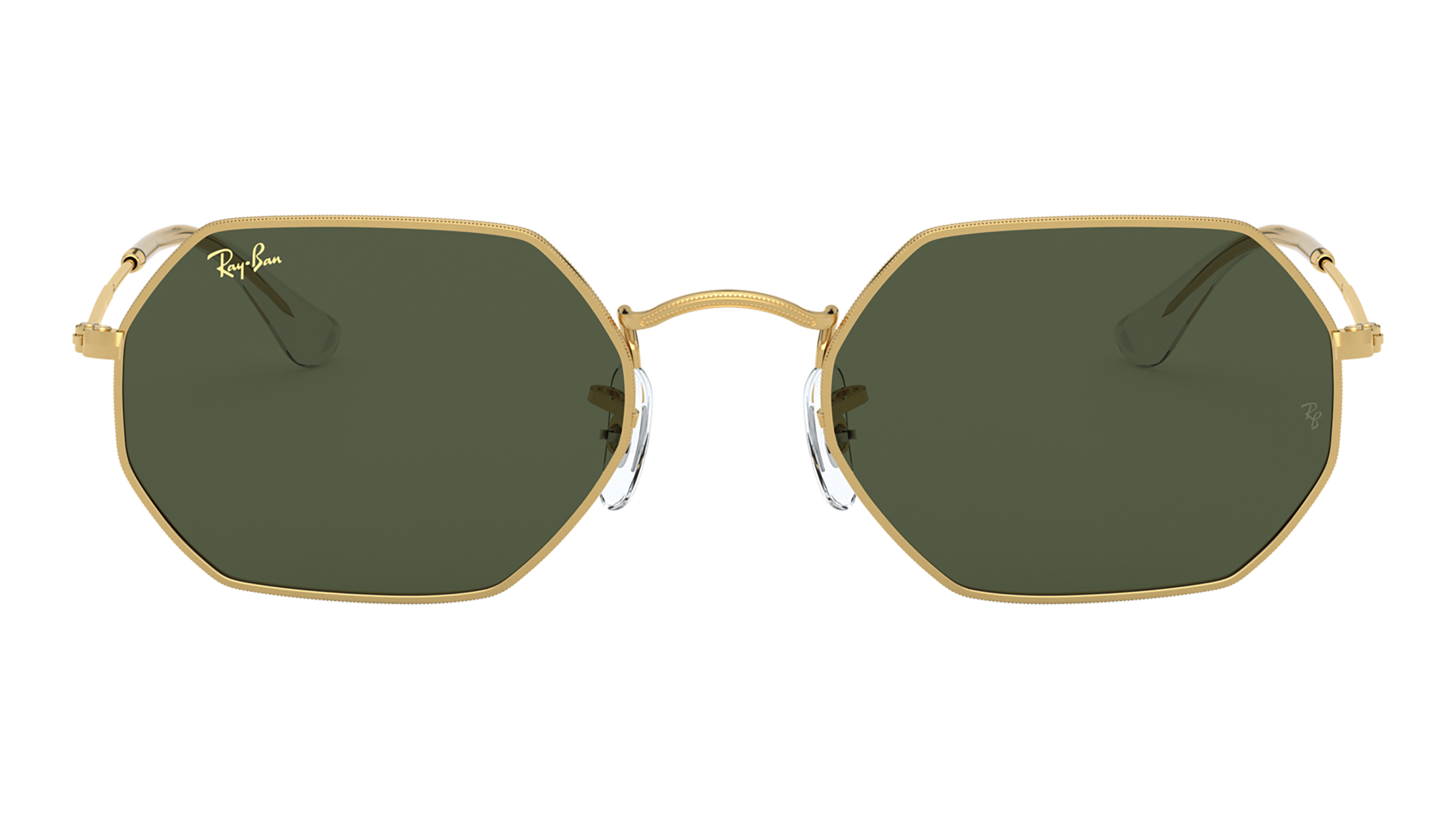 Front Ray-Ban Ray-Ban 0RB3556 919631 53/21 Goud/Blauw