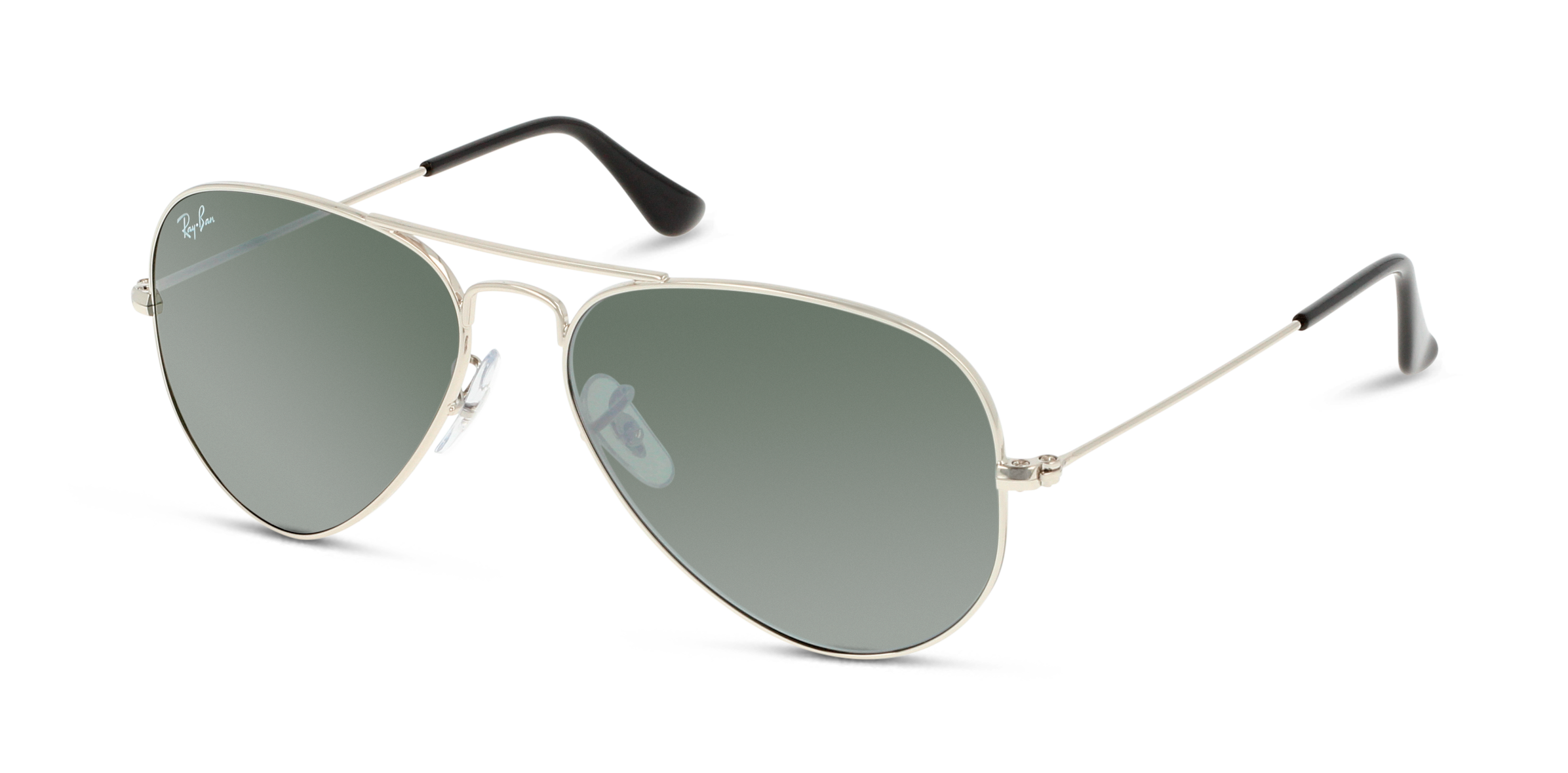 Angle_Left01 Ray-Ban Ray-Ban 3025 W3275 55/14 Zilver/Zilver