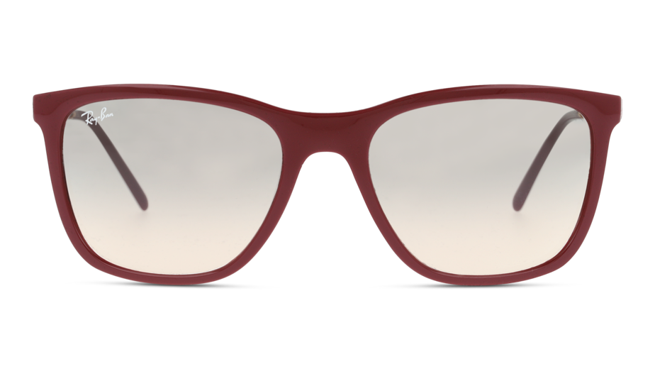 Front Ray-Ban Ray-Ban 0RB4344 653432 56/19 Rood/Grijs