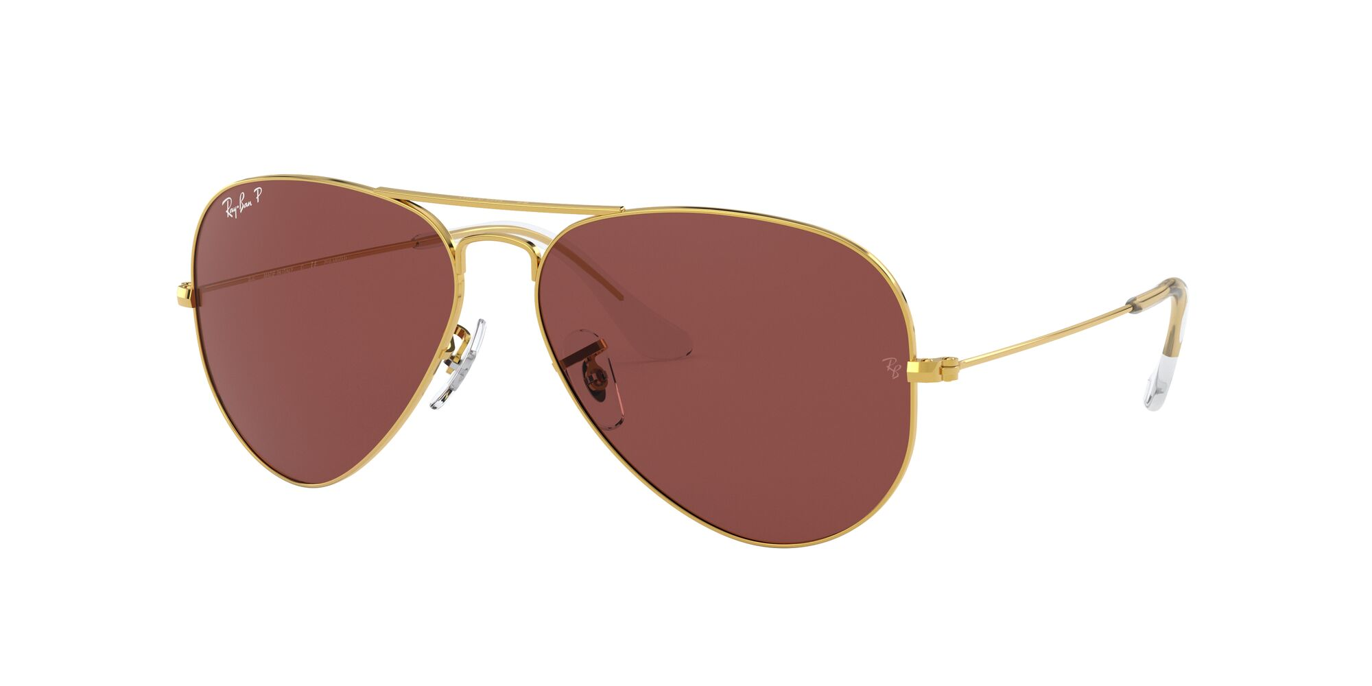 Angle_Left01 Ray-Ban Ray-Ban 0RB3025 9196AF 54/14 Goud/Paars