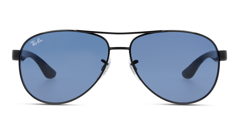 Front Ray-Ban Ray-Ban 3457 002/80 59/13 Zilver/Blauw