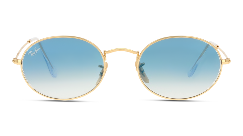 Front Ray-Ban Ray-Ban 0RB3547N 001/3F 54/21 Goud/Blauw