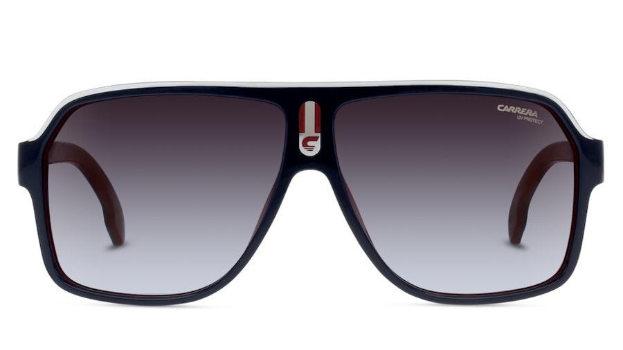 Carrera 1001/S 8RU Grijs / Blauw, Rood