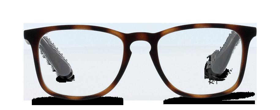 Front Ray-Ban 0RX7074/5365/5018/145 Brun