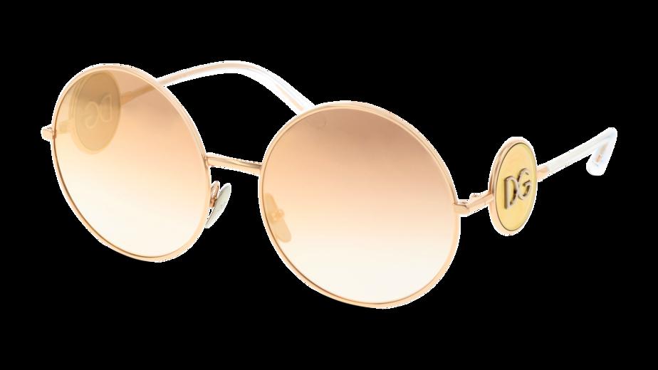 Angle_Left01 Dolce & Gabbana DolceGab 2205 12986F 59/18 Oro,Rosa/Rosa