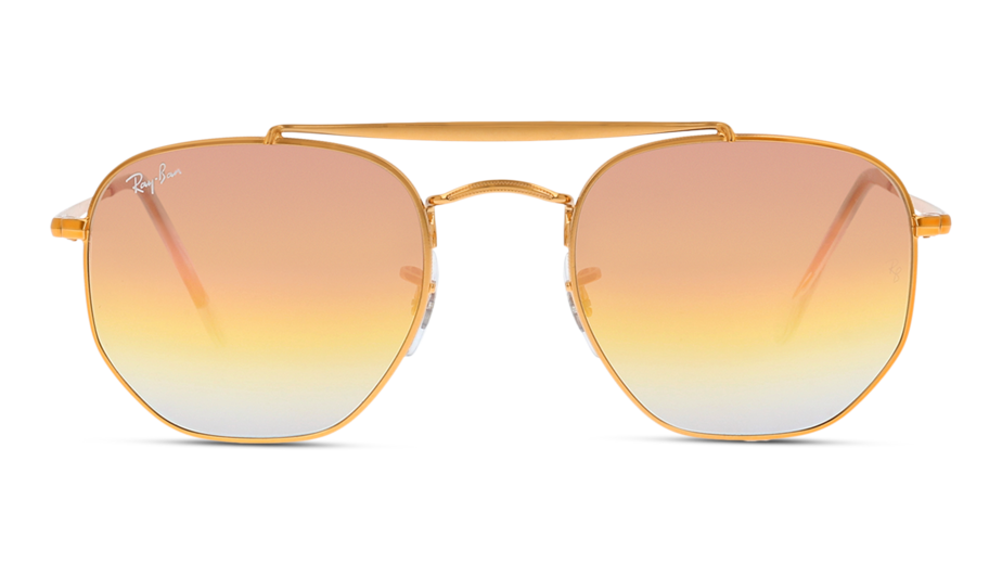 Front Ray-Ban Ray-Ban 0RB3648 9001I1 51/21 Goud/Roze