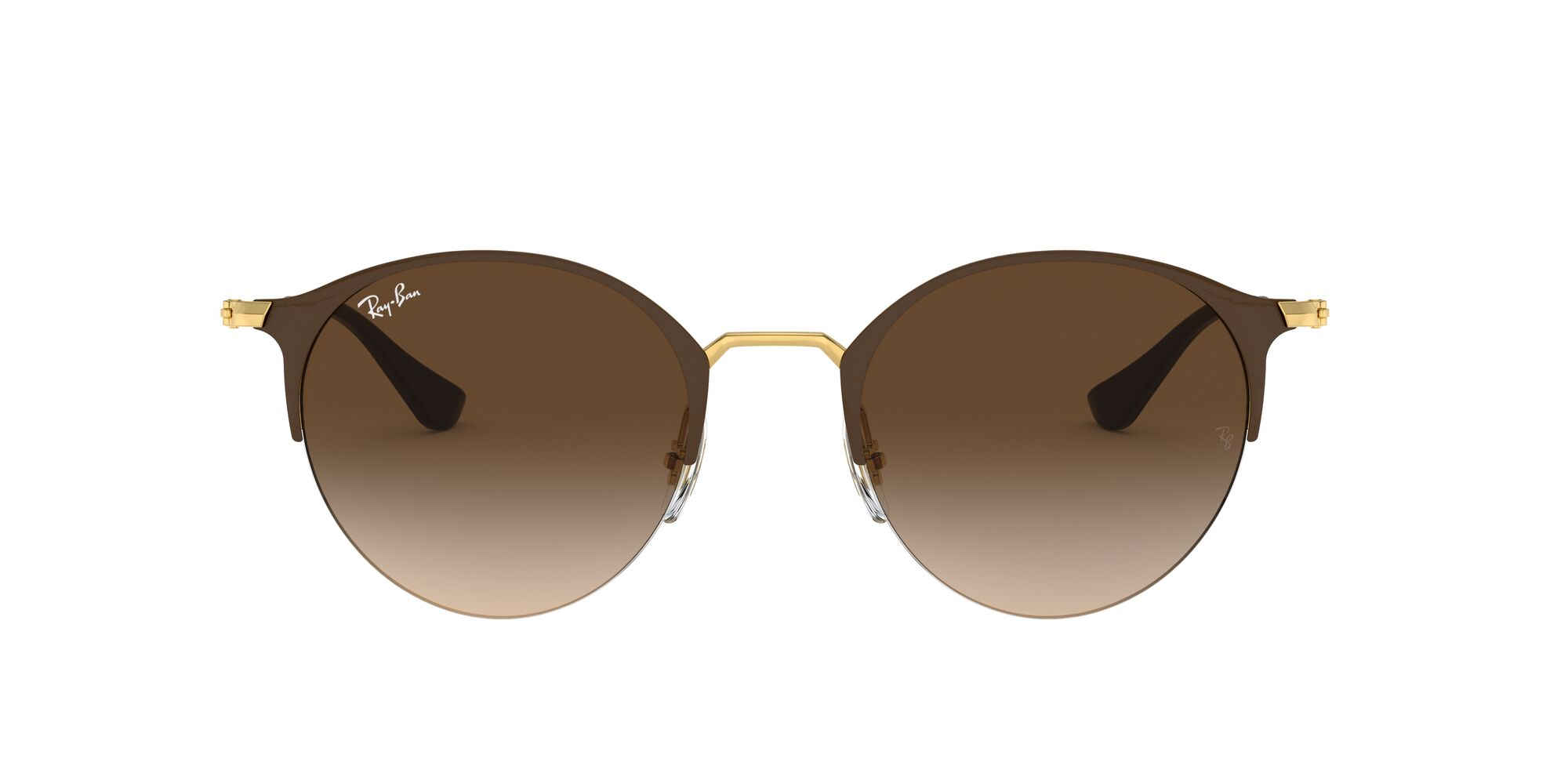 Front Ray-Ban Ray-Ban 0RB3578 900913 51/22 Zilver, Bruin/Bruin