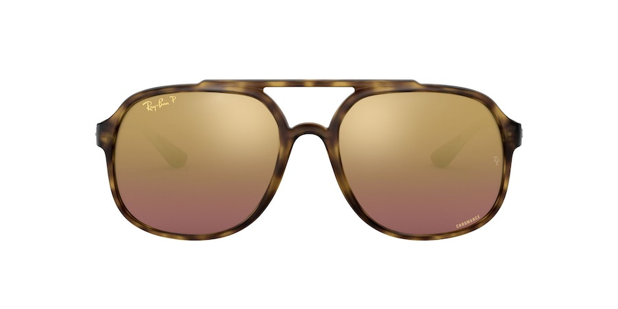 Ray-Ban 0RB4312CH 894/6B Paars / Bruin
