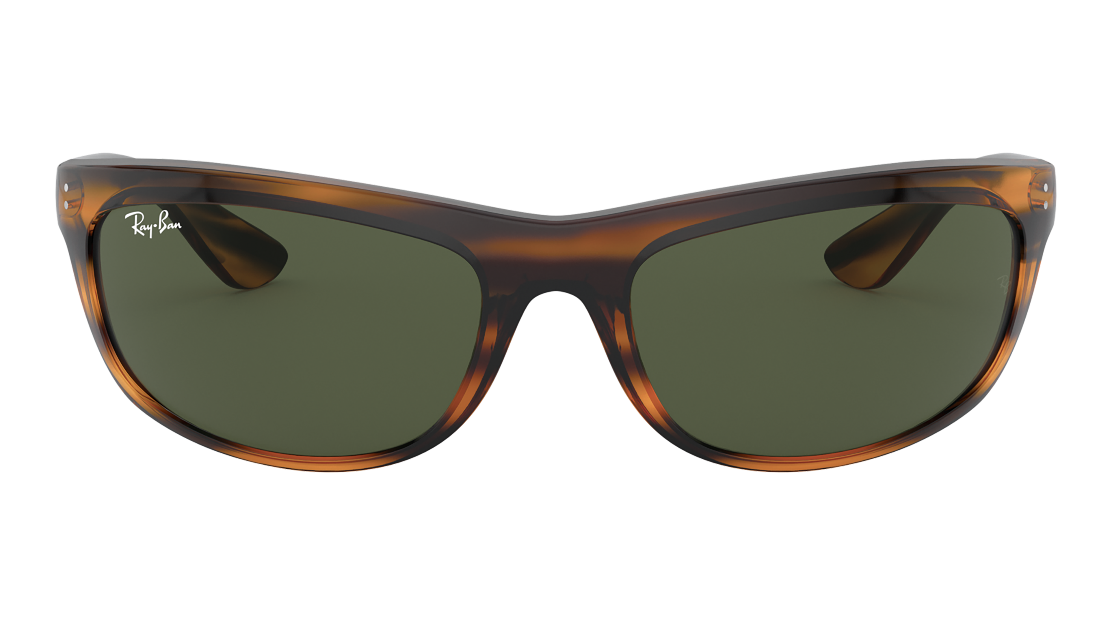 Front Ray-Ban Ray-Ban 0RB4089 820/31 61/19 Bruin/Groen