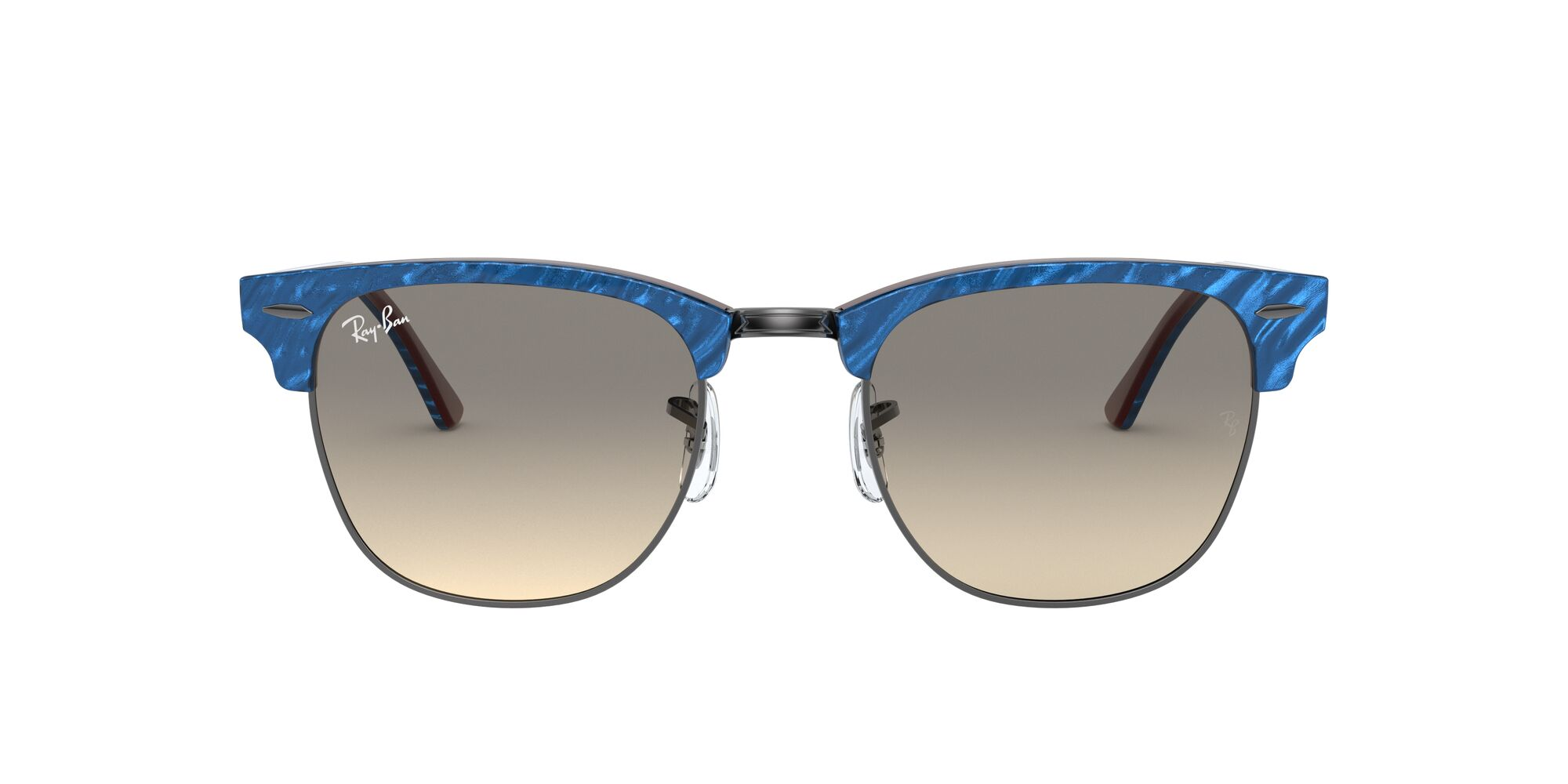Front Ray-Ban Ray-Ban 0RB3016 131032 49/21 Blauw, Bruin/Grijs