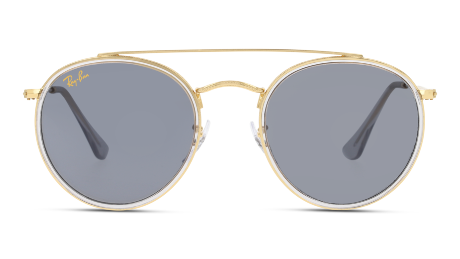 Front Ray-Ban Ray-Ban 0RB3647N 9210R5 51/22 Goud/Blauw