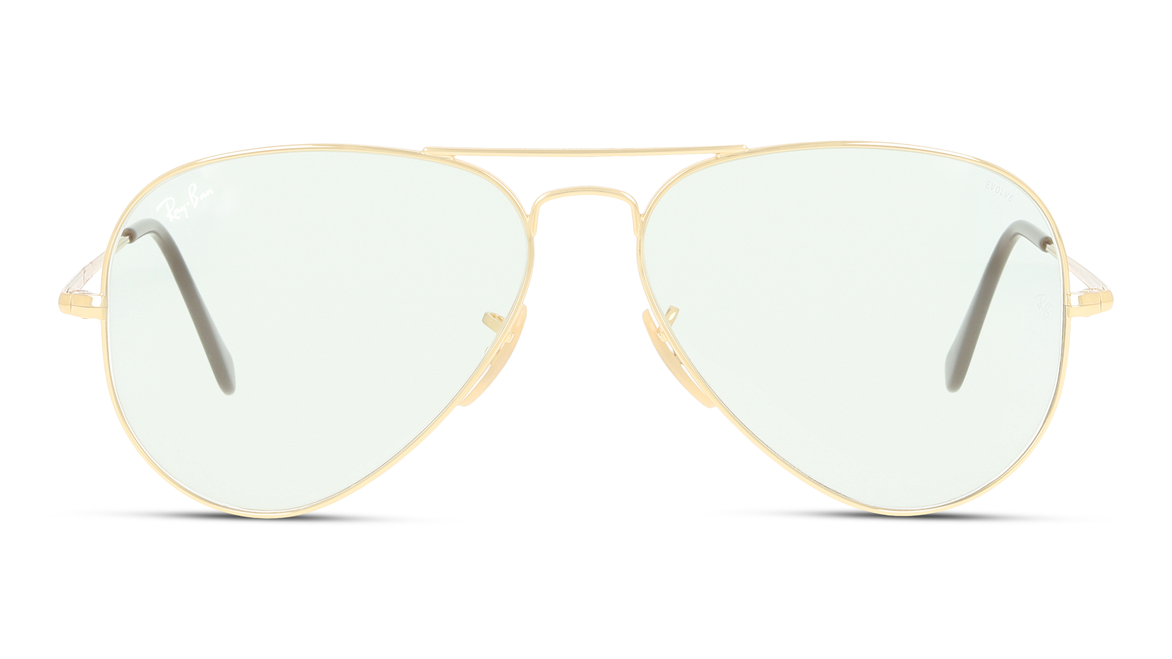 Front Ray-Ban Ray-Ban RB3689 001/T1 58/14 Goud/Groen