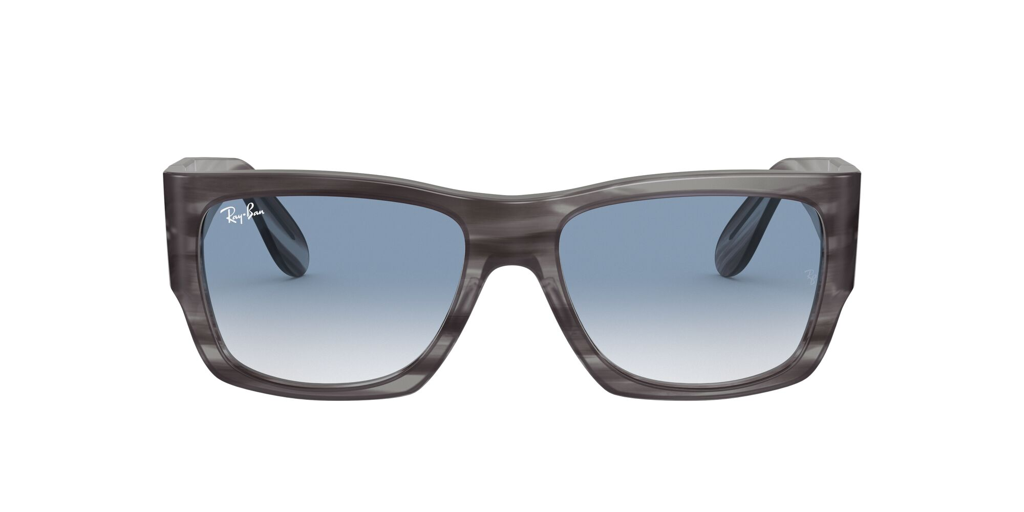 Front Ray-Ban Ray-Ban 0RB2187 13143F 54/17 Grijs/Blauw