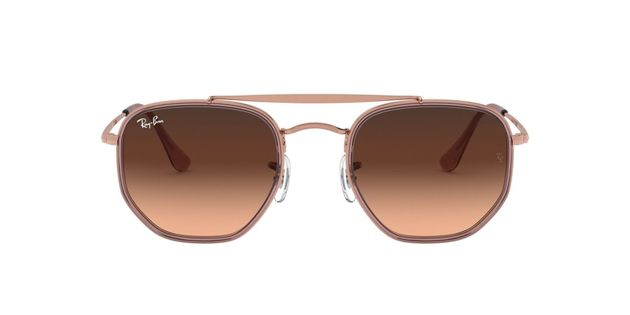 Ray-Ban 0RB3648M 9069A5 Bruin / Goud, Roze