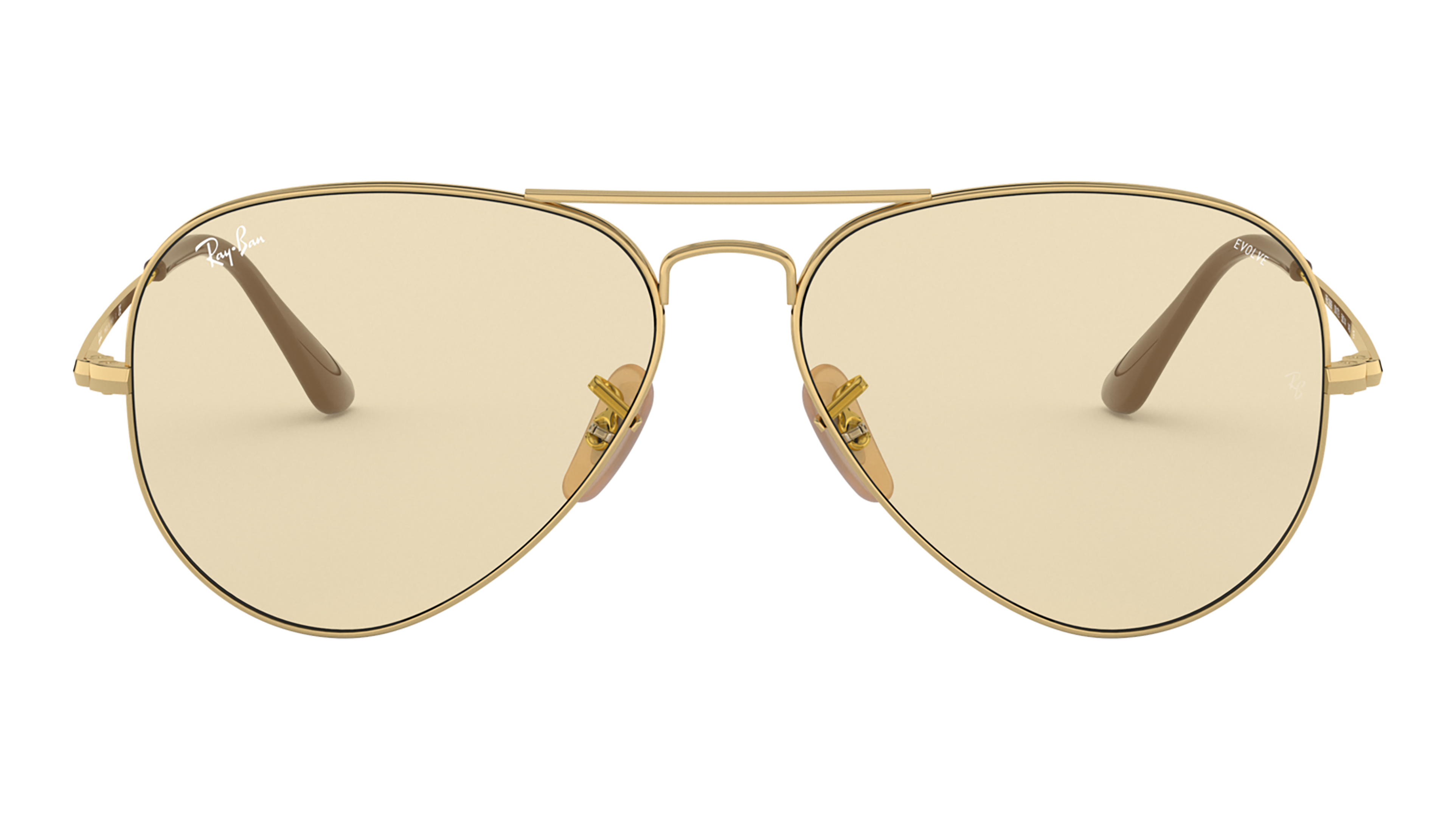 Front Ray-Ban Ray-Ban 0RB3689 001/T2 55/14 Goud/Bruin