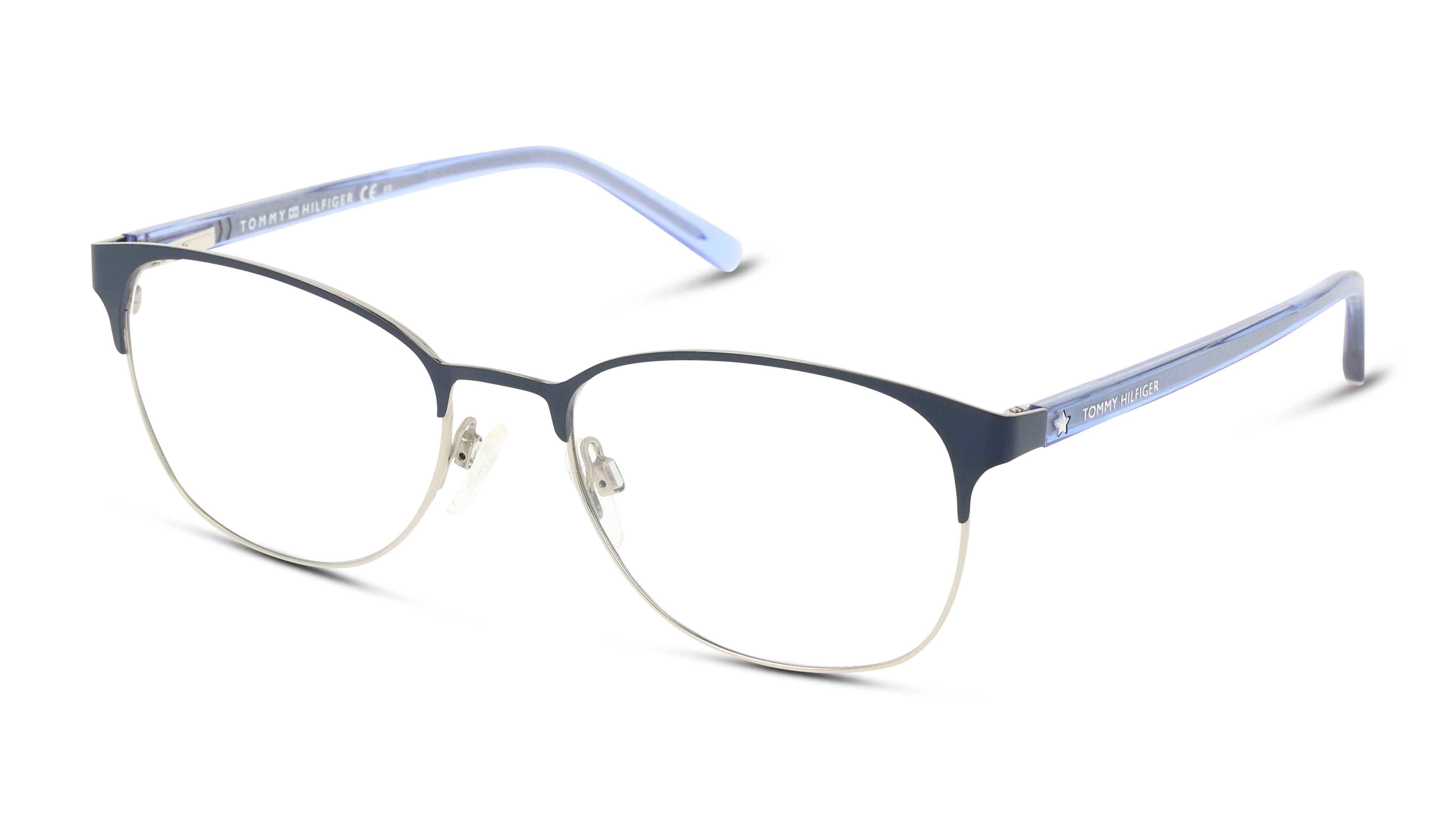 Angle_Left01 Tommy Hilfiger THilfigr TH 1749 FLL 53/18 Blauw, Zilver