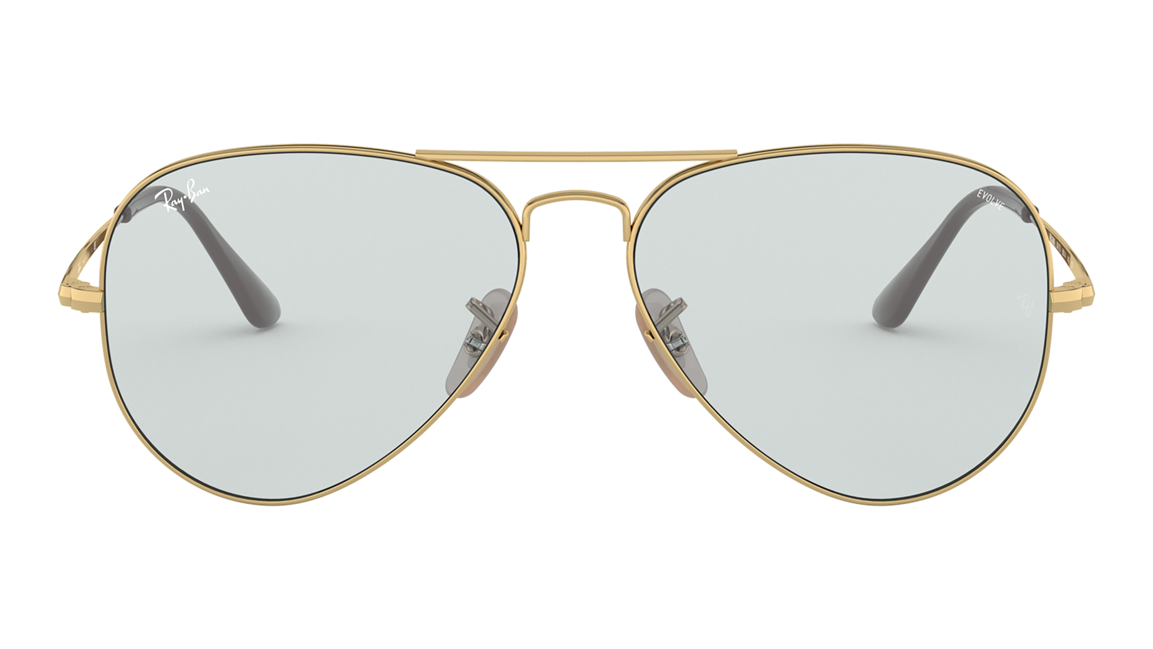 Front Ray-Ban Ray-Ban 0RB3689 001/T3 58/14 Goud/Blauw