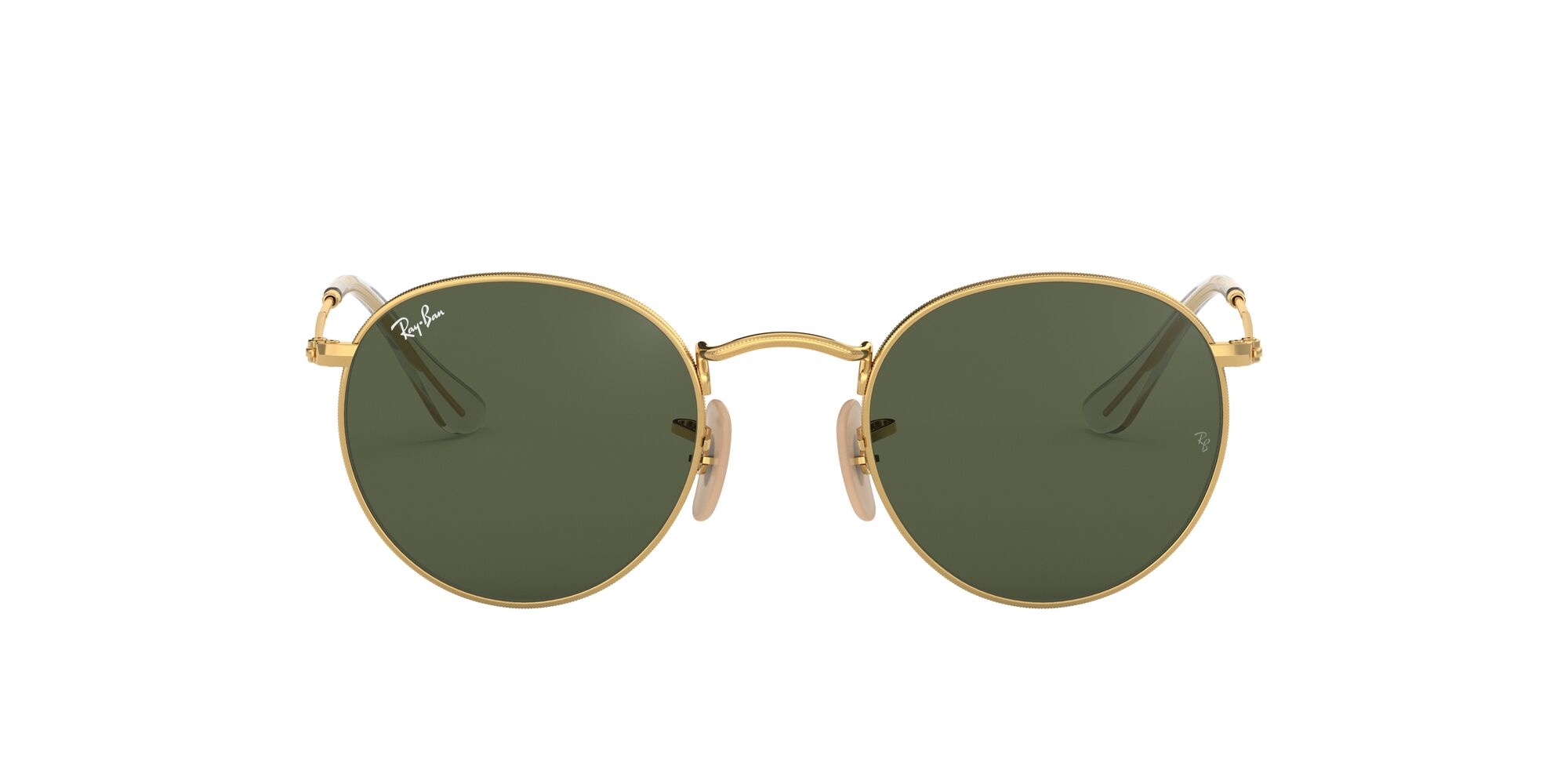 Front Ray-Ban Ray-Ban 0RB3447N 001 50/21 Goud/Groen