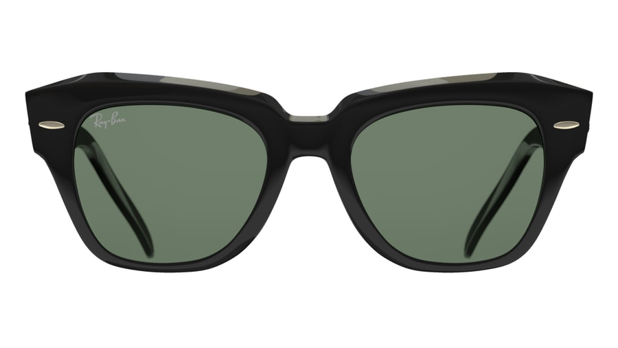 Ray-Ban STATE STREET RB2186 901/31 Verde / Nero
