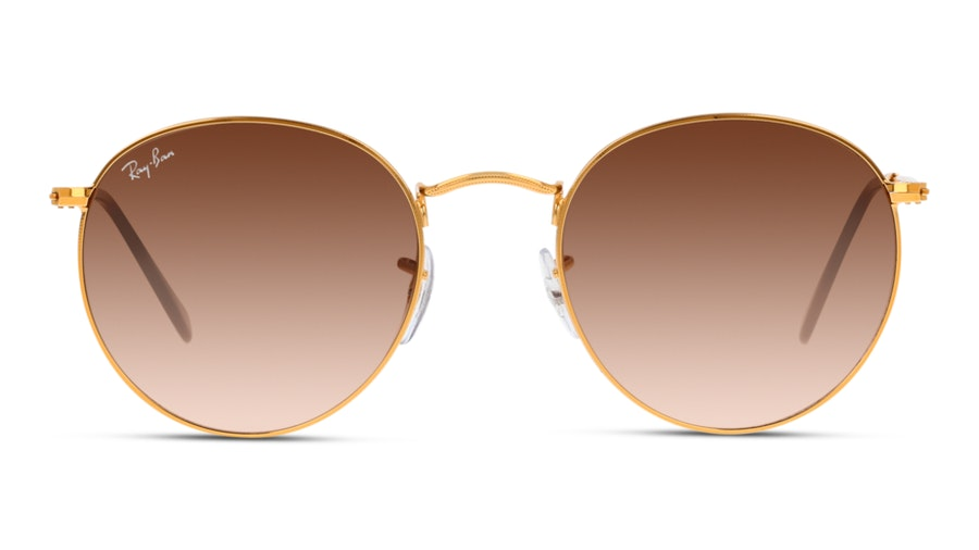 Ray-Ban 0RB3447 9001A5 Bruin / Goud
