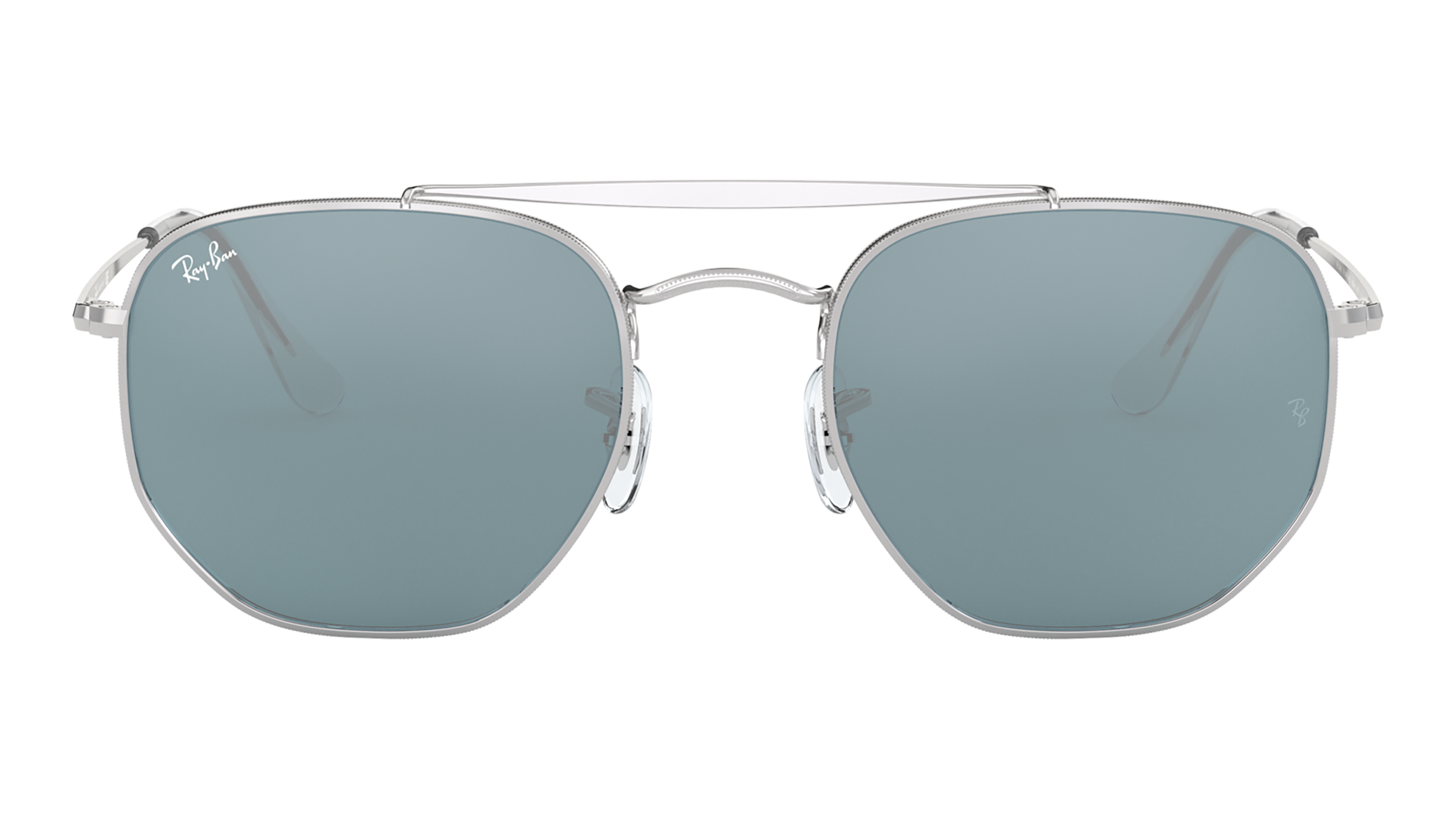 Front Ray-Ban Ray-Ban 0RB3648 003/56 54/21 Zilver/Blauw