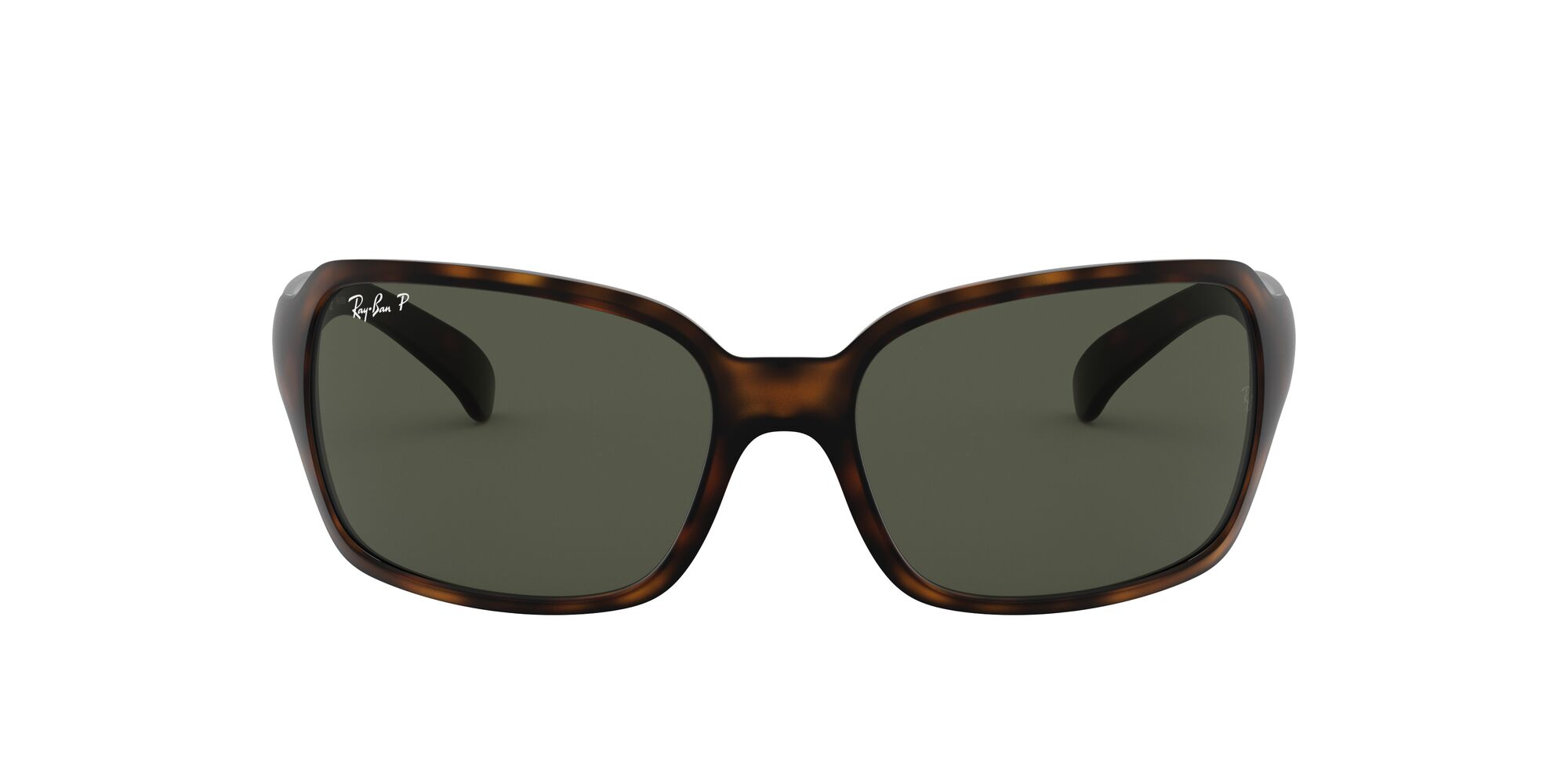 Front Ray-Ban Ray-Ban 0RB4068 894/58 60/17 Bruin/Groen
