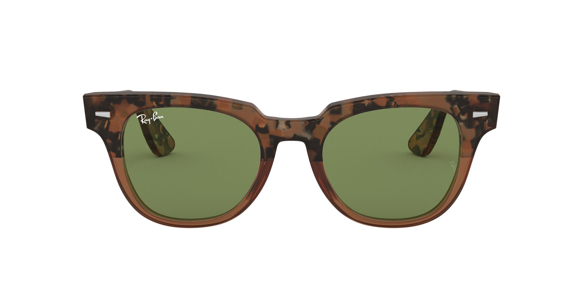 Front Ray-Ban Ray-Ban 0RB2168 128714 49/20 Bruin/Groen