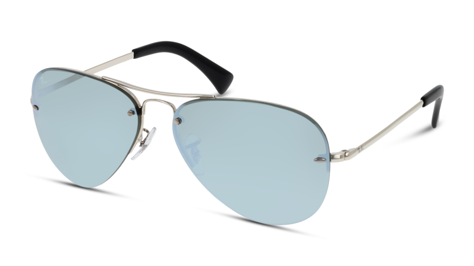 Angle_Left01 Ray-Ban Ray-Ban 0RB3449 003/30 59/14 Zilver/Zilver