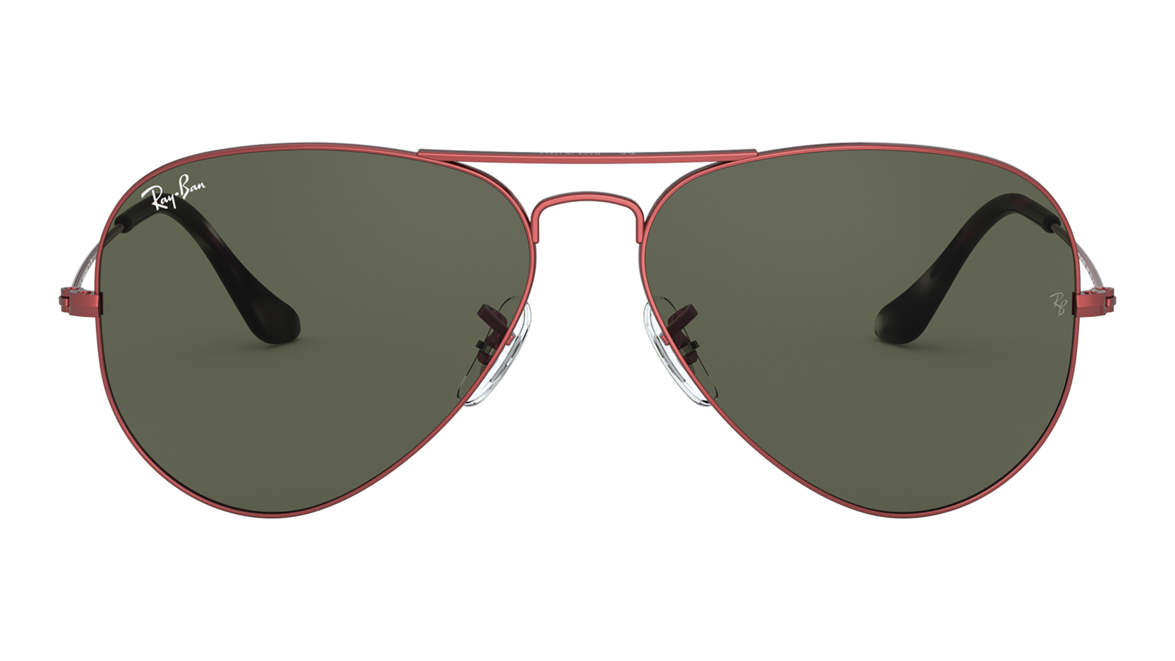 Front Ray-Ban Ray-Ban 0RB3025 918831 62/14 Rood/Groen