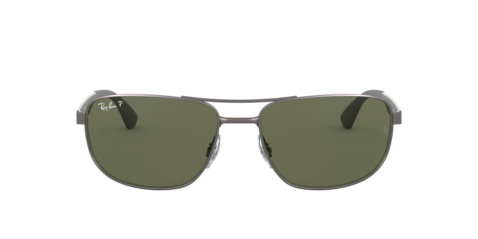 Front Ray-Ban Ray-Ban 0RB3528 029/9A 61/17 Grijs/Groen