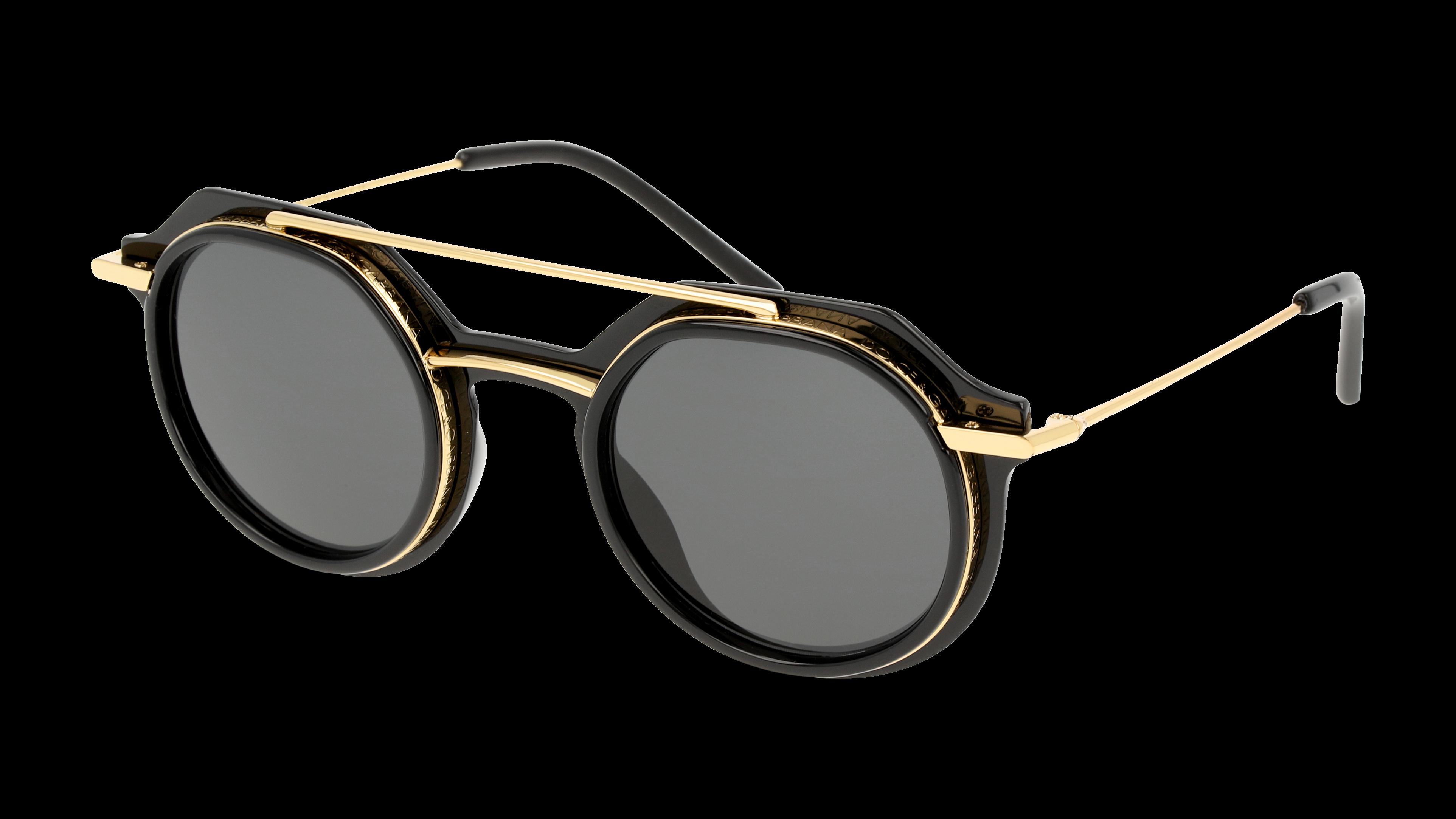Angle_Left01 Dolce & Gabbana DolceGab 6136 501/87 48/25 Nero,Oro/Grigio