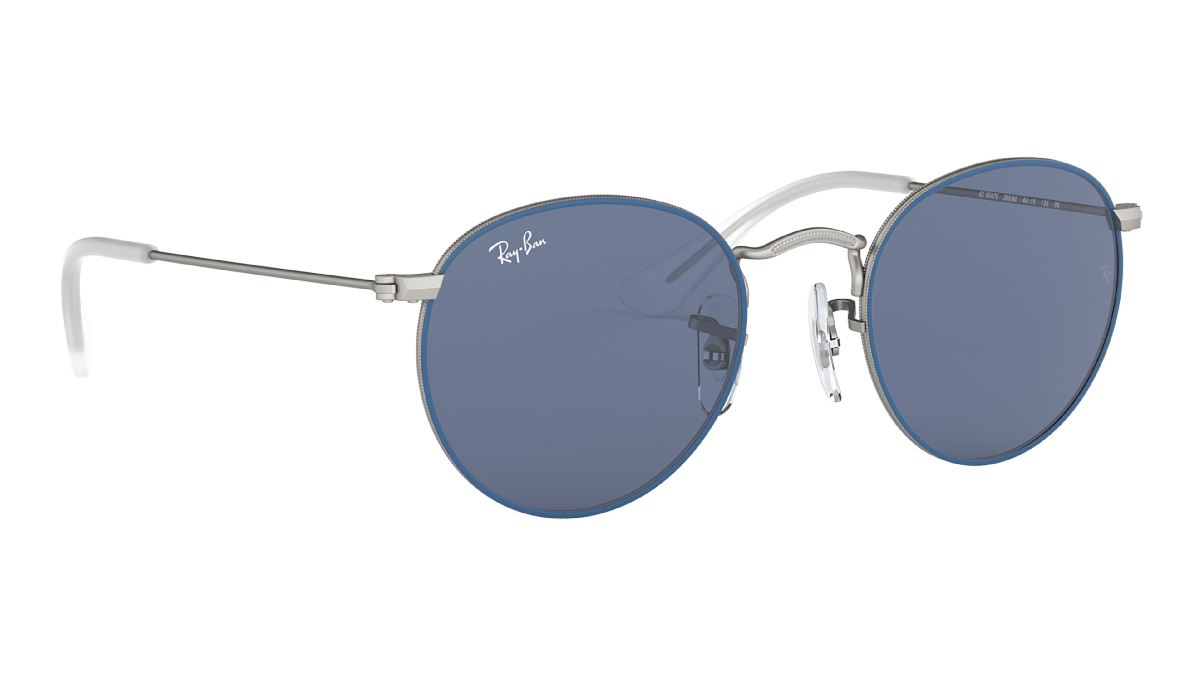 Angle_Right02 Ray-Ban Ray-Ban 0RJ9547S 280/80 44/19 Blauw, Zilver/Blauw